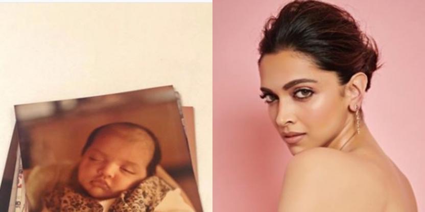 Deepika Padukone Takes a Trip Down the Memory Lane When She was Still An Infant