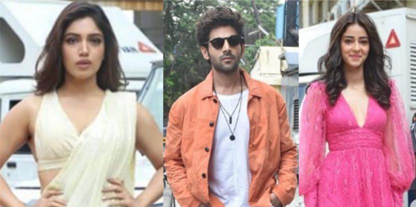 Pati Patni Aur Woh Trailer Launch: Kartik Aaryan, Bhumi Pednekar, and Ananya Panday Arrive for the Trailer Launch in Style