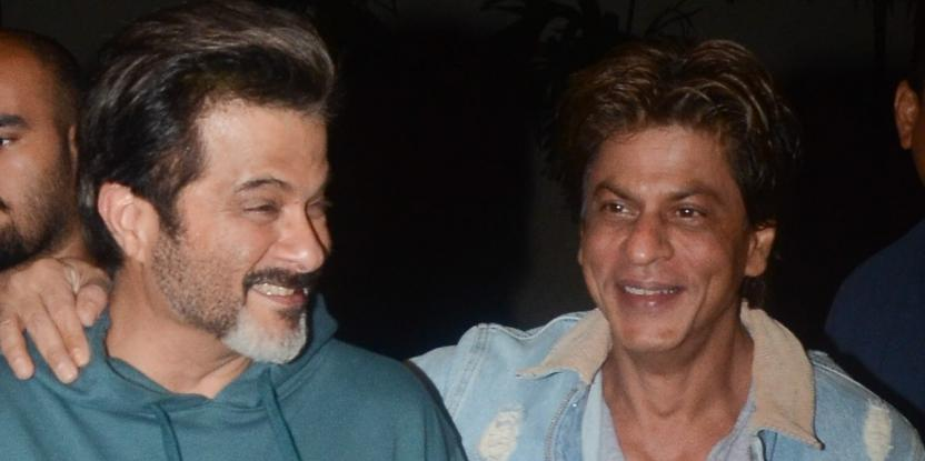 Shah Rukh Khan Will Always Remain A Fan Of Anil Kapoor
