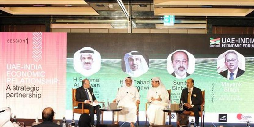 UAE Largest Arab Investor Country is India, Says Forum