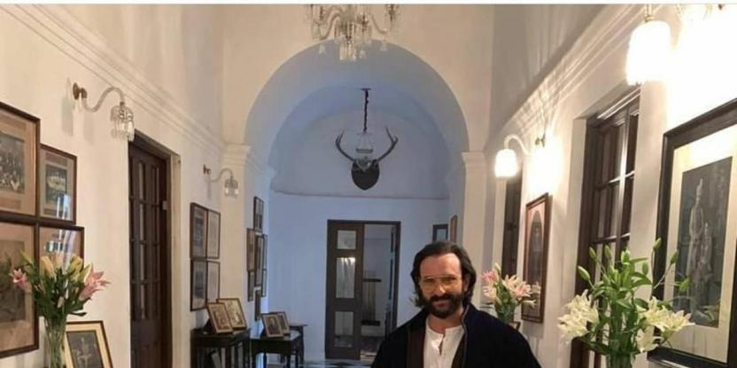 Saif Ali Khan Had to Earn Back the Pataudi Palace After Paying For It