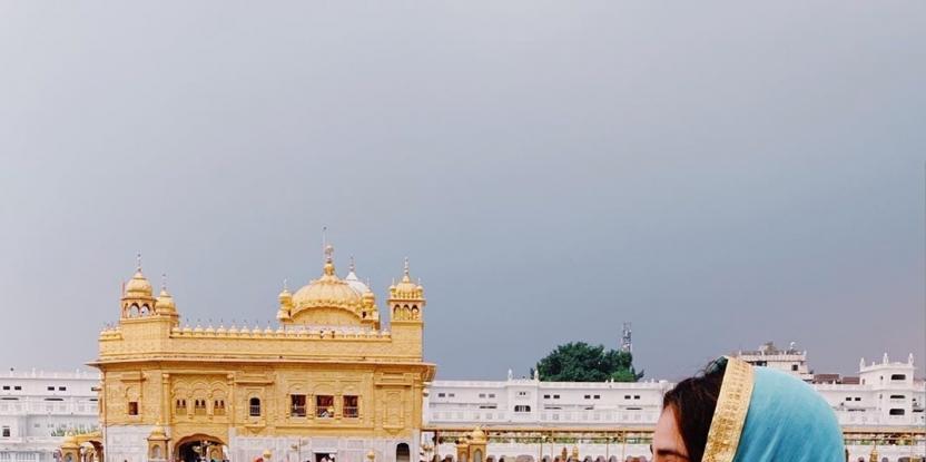 After Malaika Arora, It Is Janhvi Kapoor at the Golden Temple