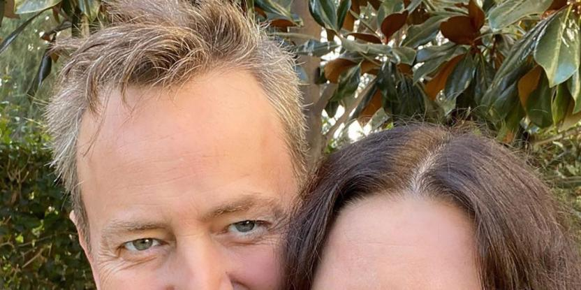 Courteney Cox and Matthew Perry of Friends Reunite