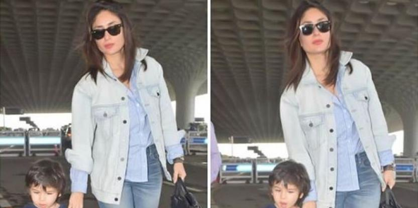 Kareena Kapoor Gives Us a Lesson on Double Denim