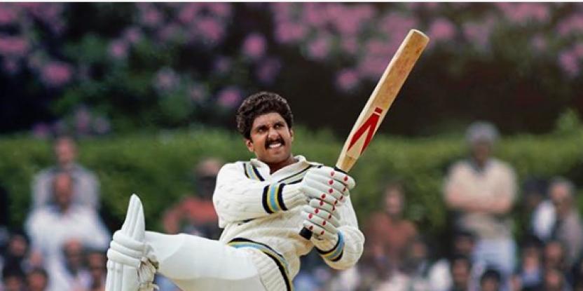 Ranveer Singh Impresses Kapil dev with the Second Look of 83