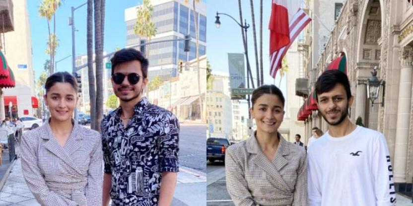 Alia Bhatt Is A Real Fan Pleaser, Snaps A Picture With Twin Brothers