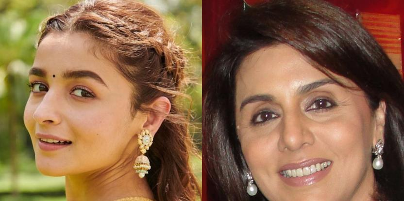 Alia Bhatt And Neetu Kapoor's Recent Picture Is Going Viral For All The Right Reasons