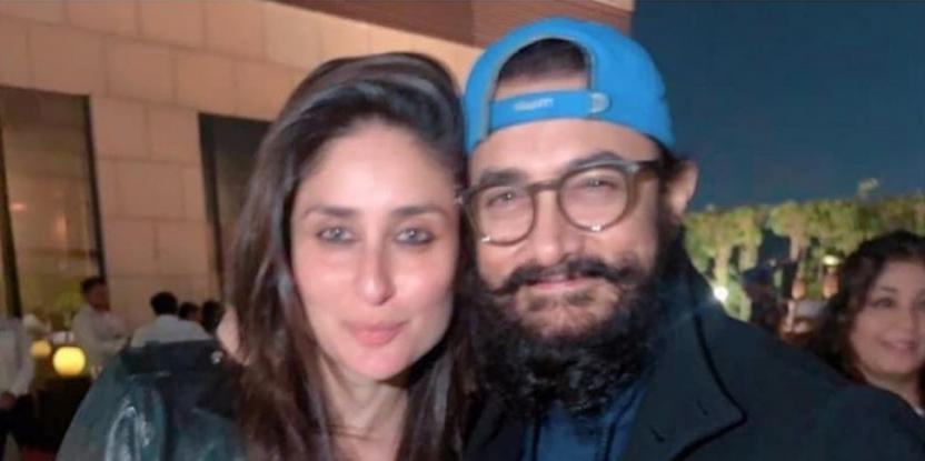 Kareena Kapoor Khan and Aamir Khan Celebrate Laal Singh Chaddha Kickoff with a Party: See PICS