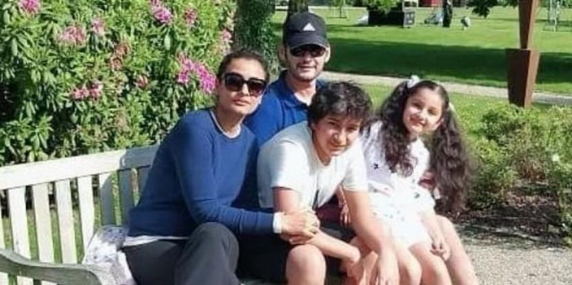 Namrata Shirodkar and Mahesh Babu's Daughter Dubs for Frozen