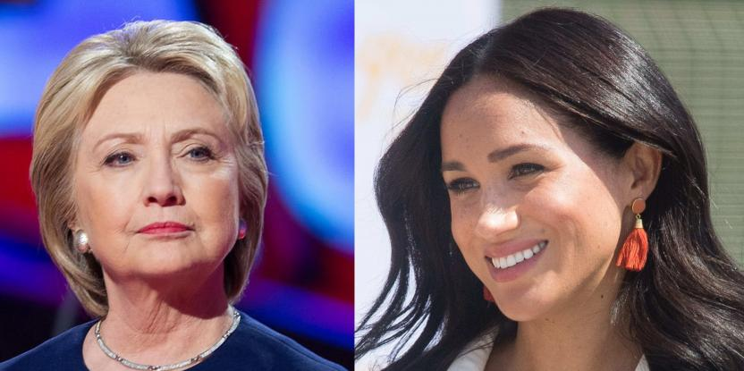 Meghan Markle, Hillary Clinton Share a Fangirl Moment at Frogmore Cottage