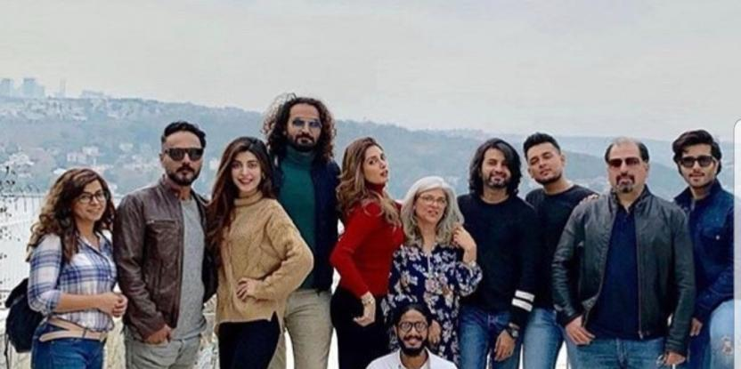Iman Ali Chills with Urwa Hocane and the Crew of Tich Button in Turkey