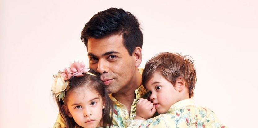 Karan Johar's Kids Advise Him on What to Wear. Watch this Video, It's Too Cute!