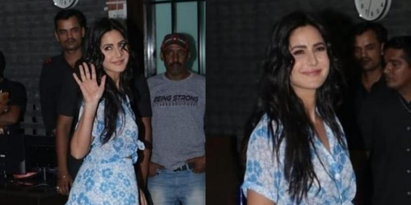 Katrina Kaif Is Taking Our Blues Away In Printed Co-Ord Set