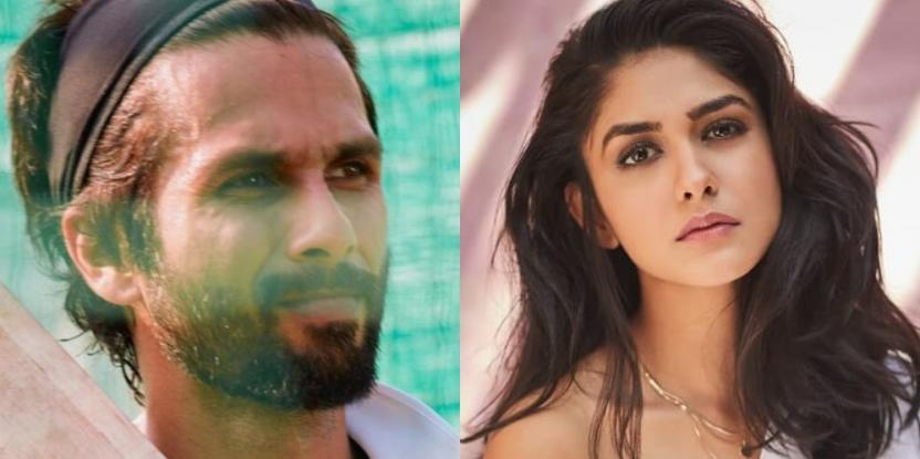 Shahid Kapoor's Upcoming Film Jersey has Mrunal Thakur Roped in to Play the Female Lead