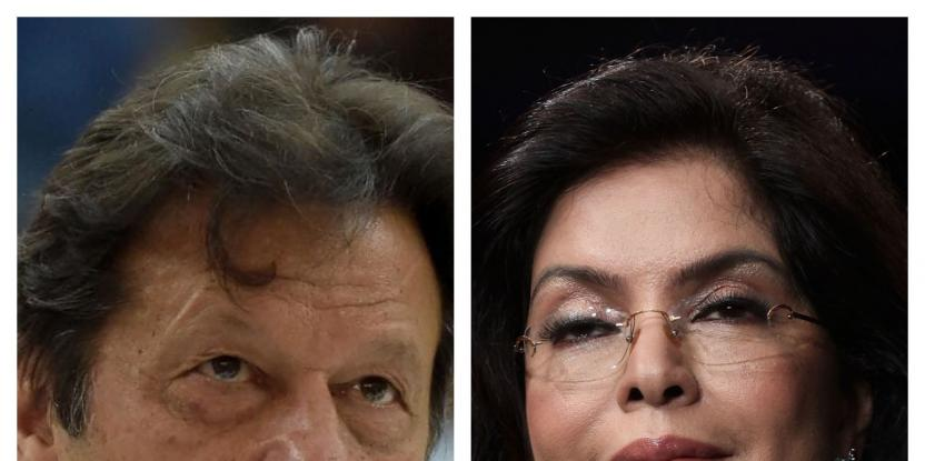 Imran Khan, Pakistani Prime Minister, and Zeenat Aman Were Rumoured to Have an Affair