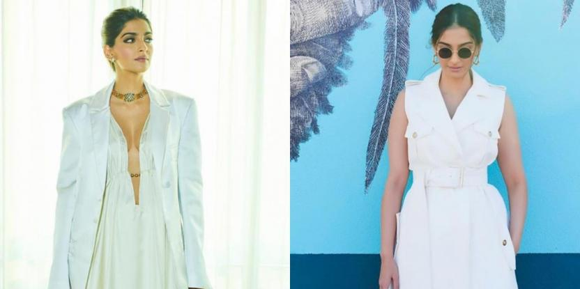Sonam Kapoor Rocked An All-White Look. Check It Out