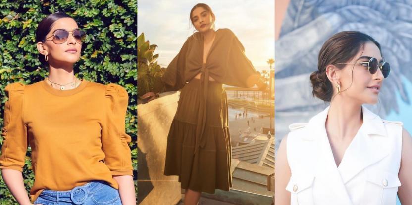 Sonam Kapoor Serves Major Vacay Style Inspo In These Three Looks
