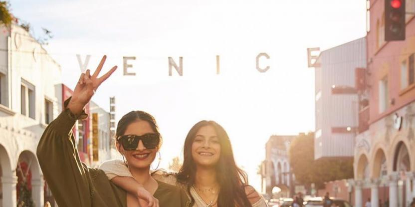 Sonam Kapoor and Rhea Kapoor Are Giving Major Boss Vibes in Los Angeles