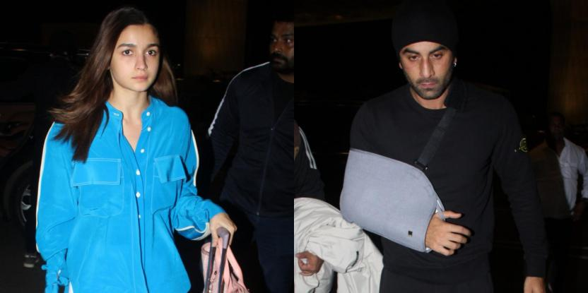 Alia Bhatt and Ranbir Kapoor Spotted in Manali