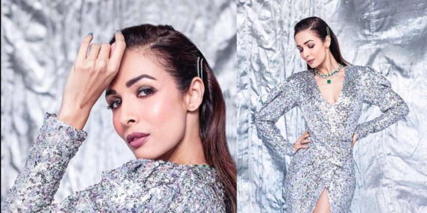 Malaika Arora Dazzles In Sparkly Silver Number