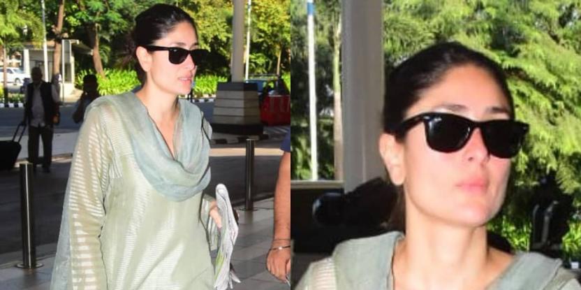 Kareena Kapoor Exudes Elegance in Latest Desi Look