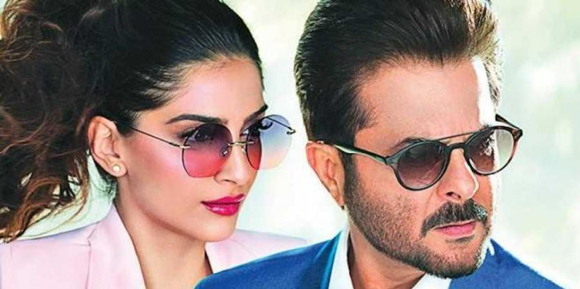 Sonam Kapoor, Anil Kapoor Model for an Eyewear Brand