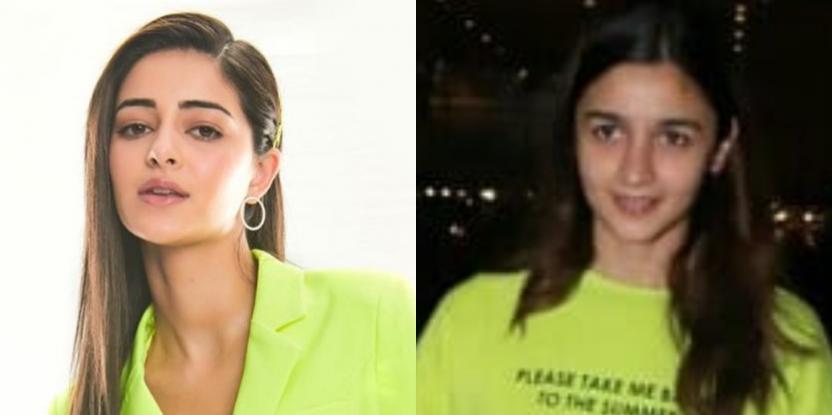 Alia Bhatt, Ananya Panday Rock Neon in Two Different Ways