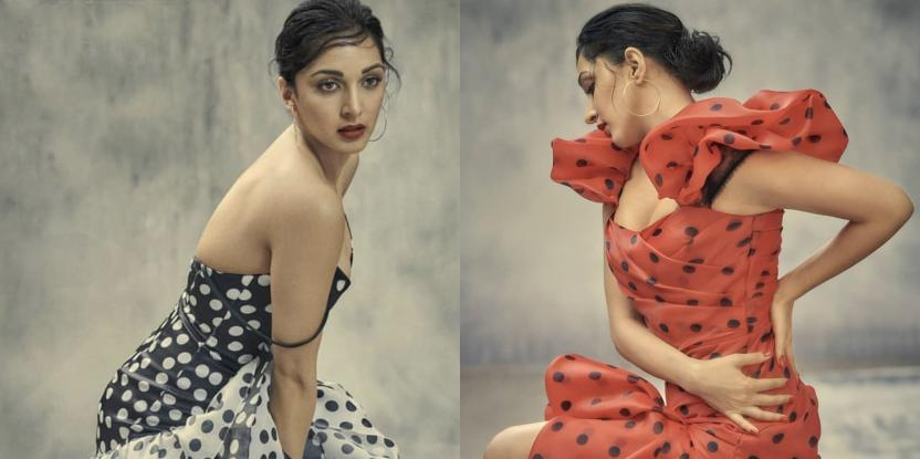 Kiara Advani Sports Two Polka Dot Looks with a Side of Sass