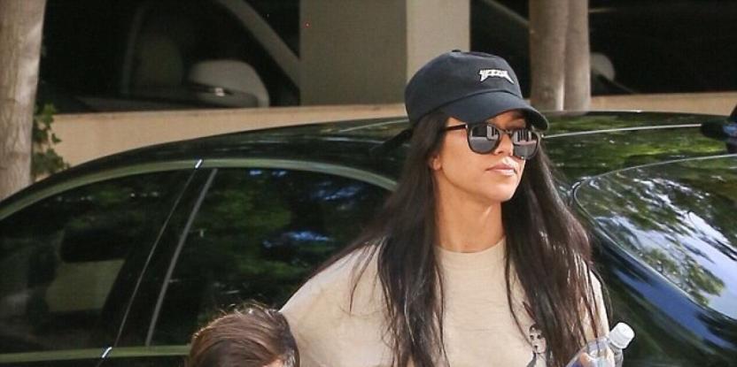 Kourtney Kardashian's Son, Mason Has His Own Skincare Routine