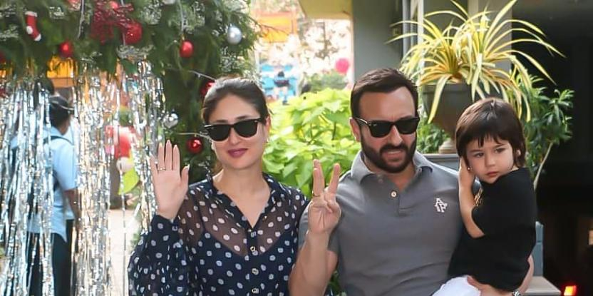 Taimur Ali Khan's Birthday Celebrations Kick Off with Christmas-themed cake