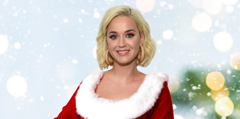 Katy Perry Kicks off Christmas Celebrations, Spends Time with Children of the Community