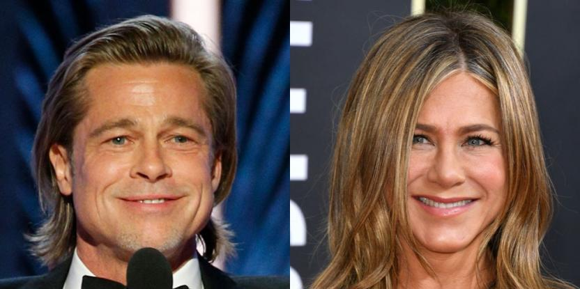 Golden Globes 2020: Jennifer Aniston Cheers on Brad Pitt As He Accepts His Award