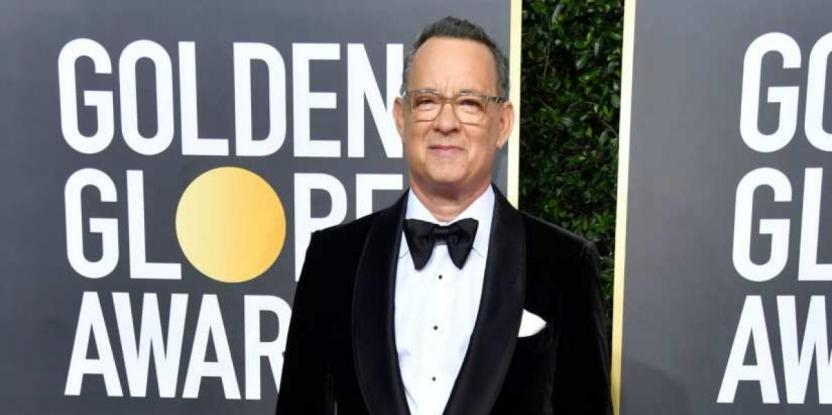 Golden Globes 2020: Tom Hanks Reveals He's Playing a Bad Guy Soon