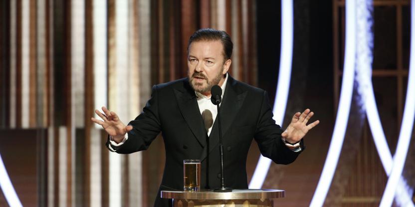 Ricky Gervais' Epic Golden Globe 2020 Hosting - Here's How Social Media Loved the Roast