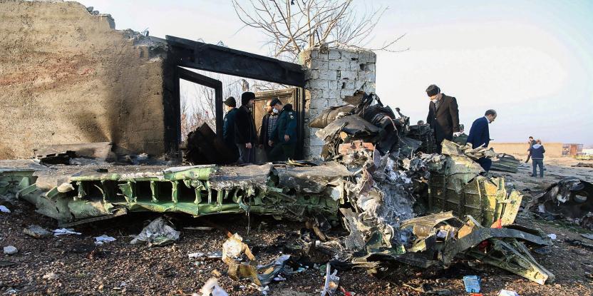 Iran Plane Crash: Boeing 737 Jet Crashes Near Tehran Killing Everyone on Board