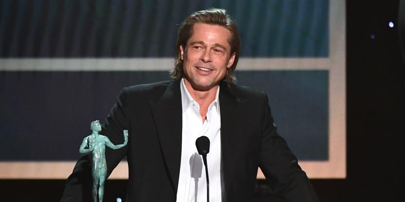 Brad Pitt's Speech at the SAG Awards is Disrespectful to Angelina Jolie. Here's Why.