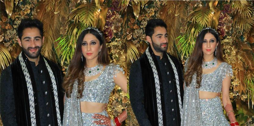 Armaan Jain and Anissa Malhotra Make a Fairytale Couple on Their Wedding Reception