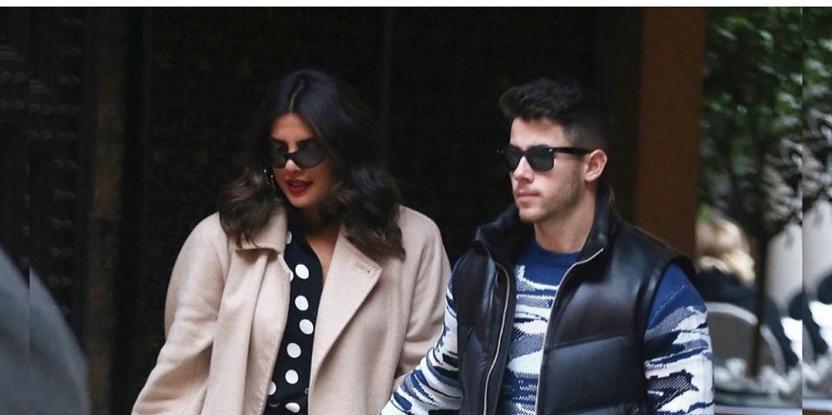 Priyanka Chopra, Nick Jonas Enjoy a Low Key Valentine's Day Lunch Date in Milan
