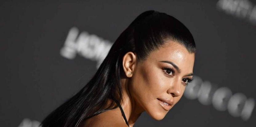 Kourtney Kardashian's Secret To Silky And Shiny Hair Is Right In Your Kitchen