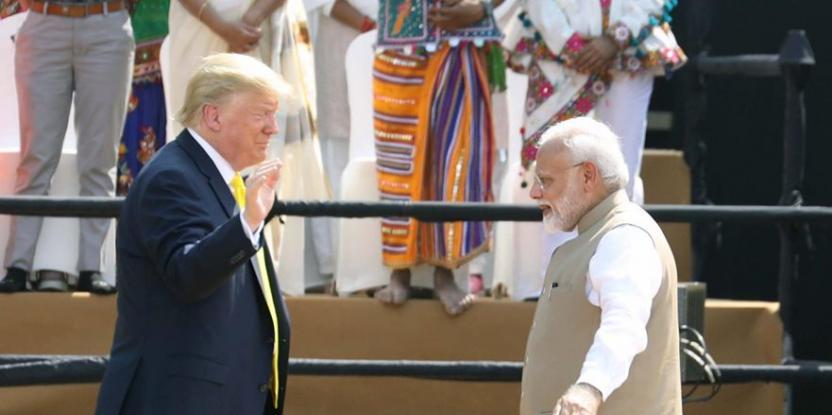 Donald Trump in India: US President Kicks Off His Maiden Visit