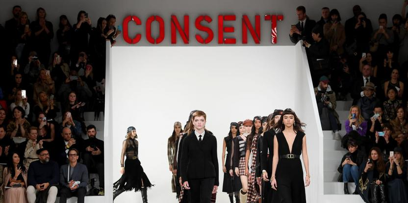 #MeToo Inspired Fashion Show Hosted by Dior