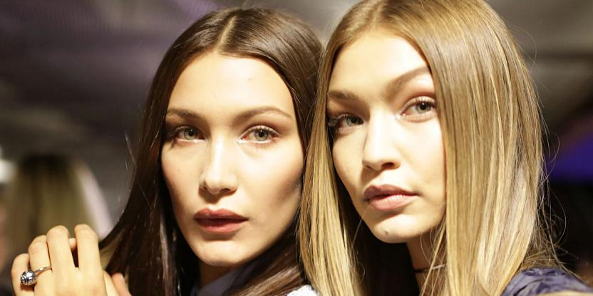 Gigi, Bella Hadid Exude Bond Girl Vibes at Paris Fashion Week