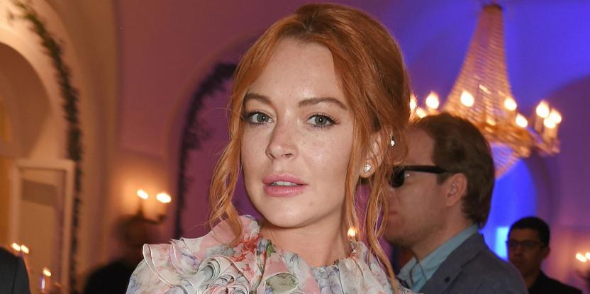 Lindsay Lohan Hits The Gym In Dubai And Is Training Under This Fitness Instructor