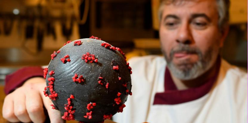 Coronavirus-Inspired Chocolate Easter Eggs: Would You Dare To Try?
