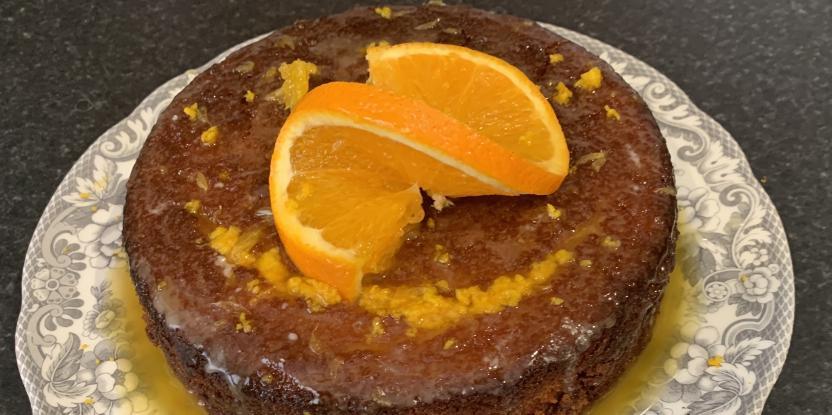 Recipe of the Day: Orange Drizzle Cake