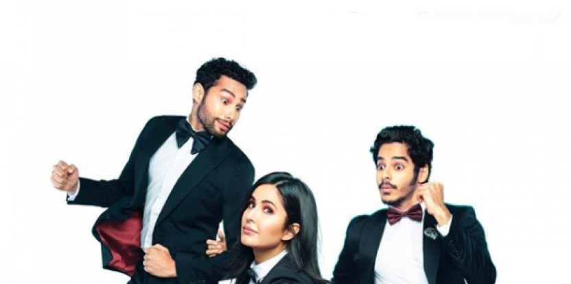 First look at Phone Bhoot: A horror comedy starring Katrina Kaif, Ishaan Khatter and Siddhant Chaturvedi
