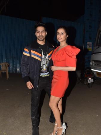 Celeb Spotting: Shraddha Kapoor and Varun Dhawan